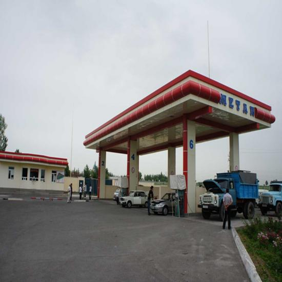 cng daughter booster station